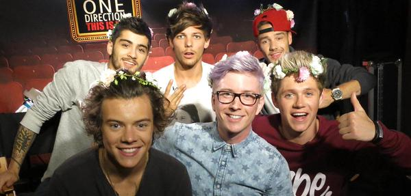 Tyler Oakley One Direction