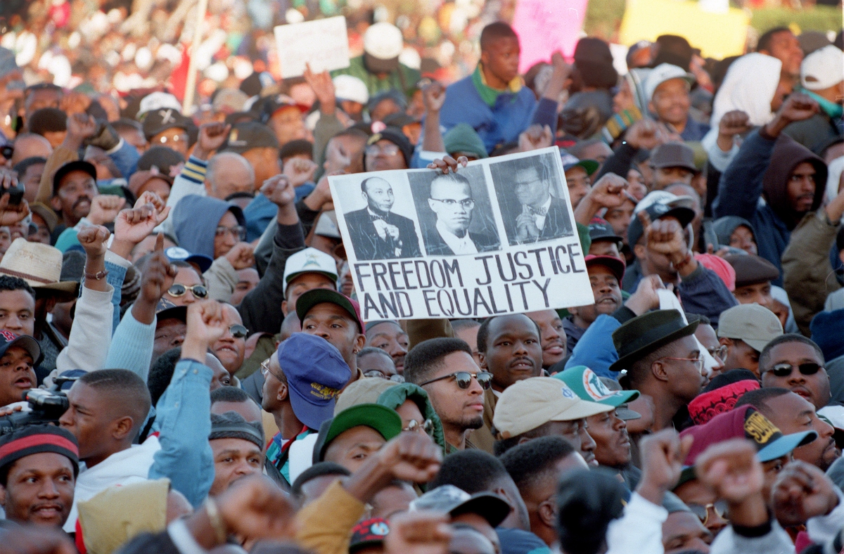 Million Man March in 1995