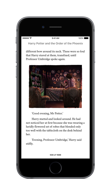 Harry Potter Apple Digital Editions