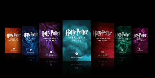 Harry Potter Apple Digital Editions iBook