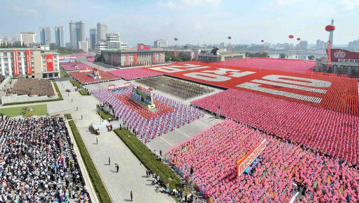 North Korea military parade