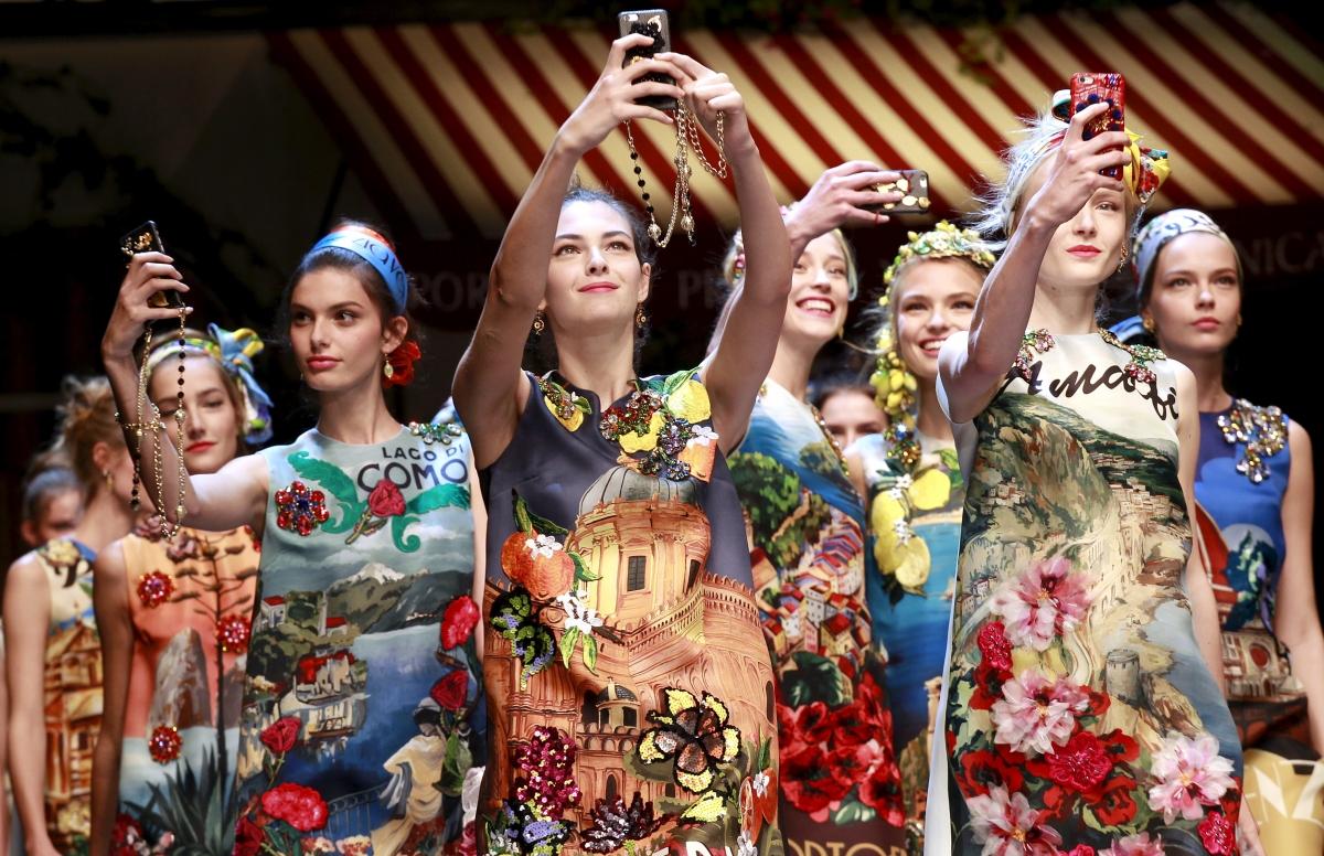 Dolce and Gabbana show MFW