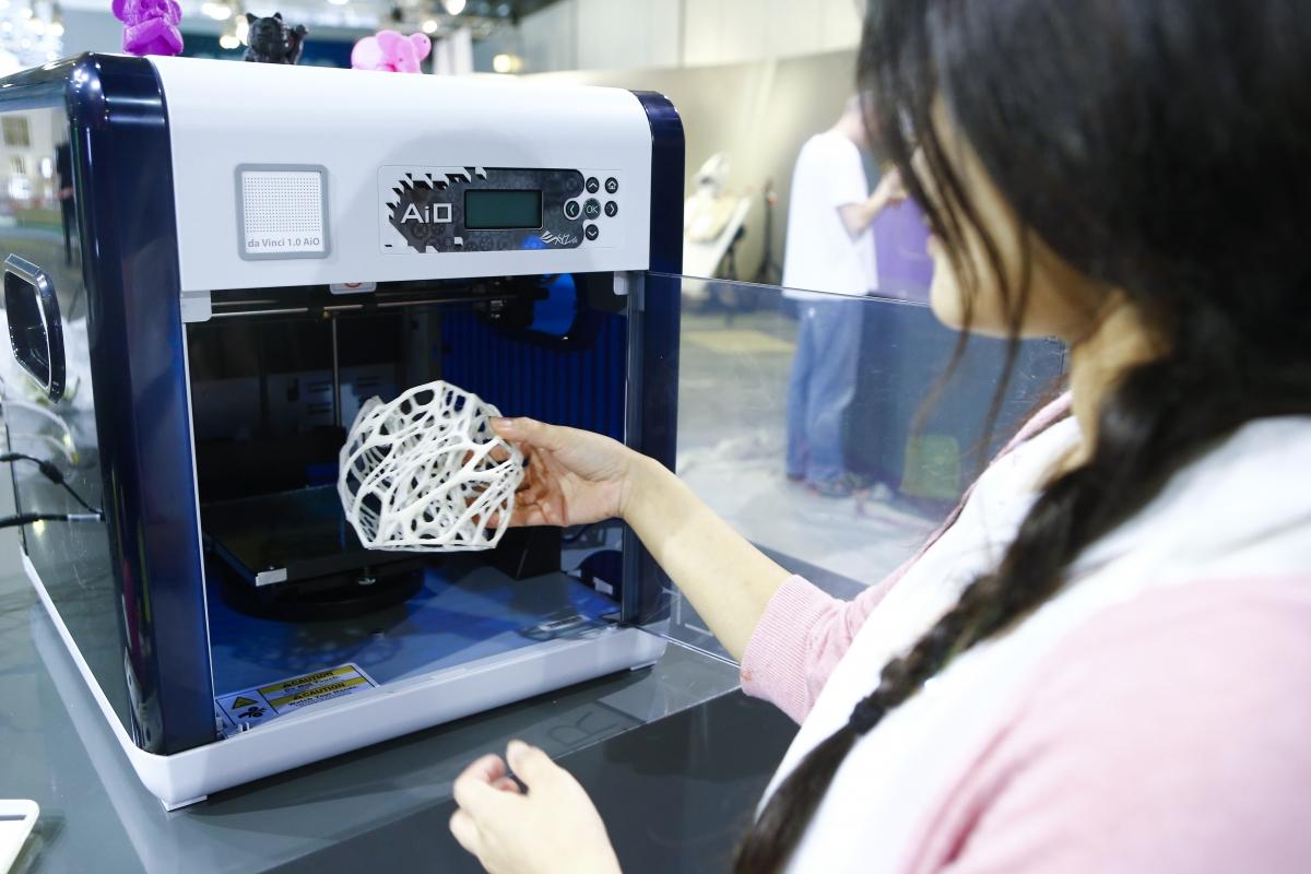 3D printer da Vinci 1.0 AiO, XYZprinting