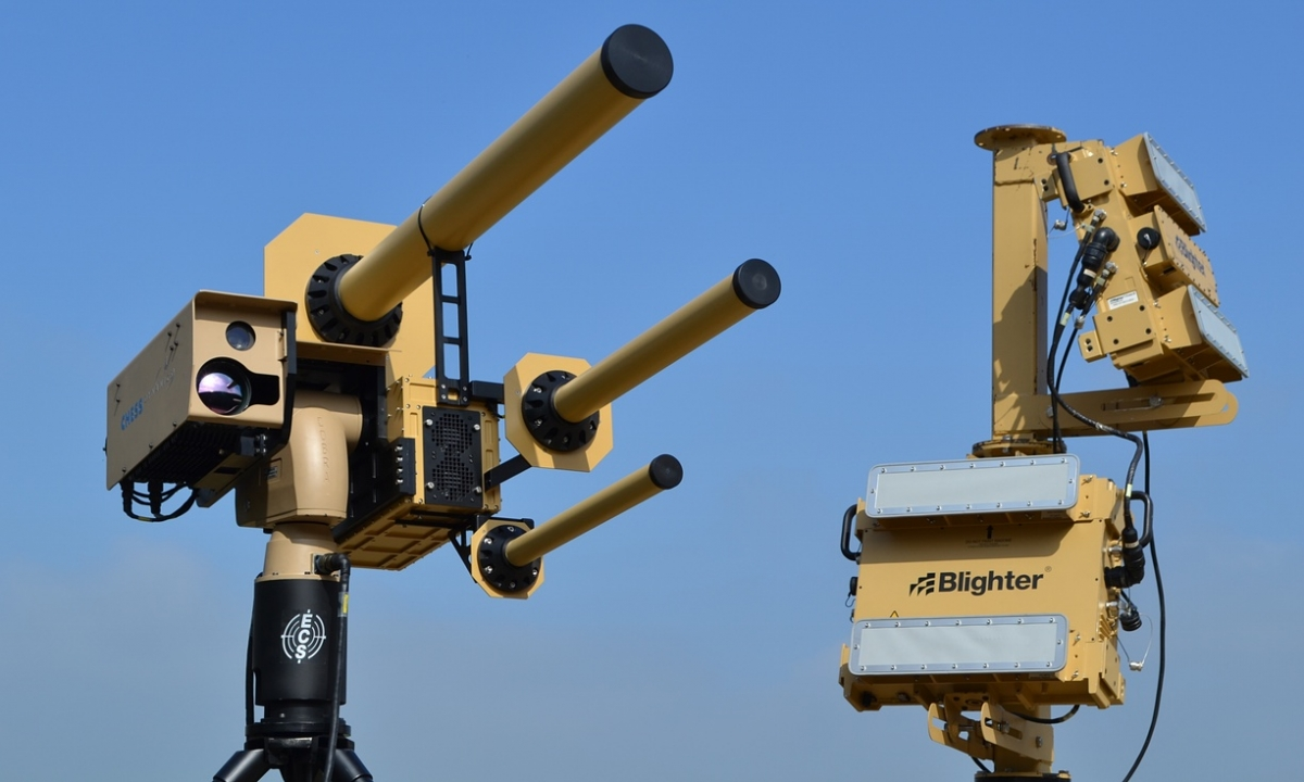 Drone defence system