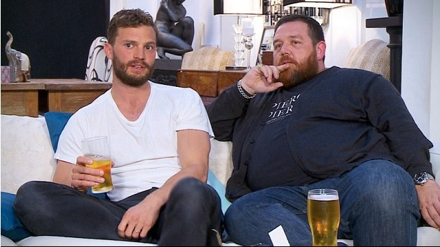 Jamie Dornan and Nick Frost on Gogglebox