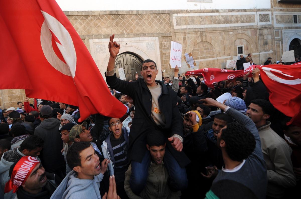 Tunisia revolution 2011