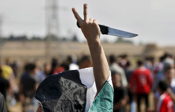 Palestinian protester Gaza