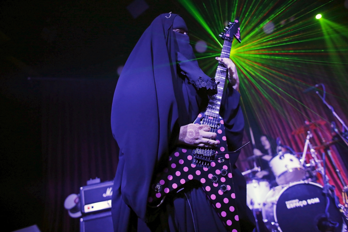 Gisele Marie: The Muslim heavy metal artis