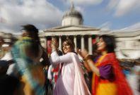 Diwali at Trafalgar Square