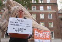 Anti-TTIP activist