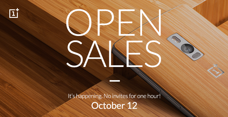 OnePlus 2 open sales