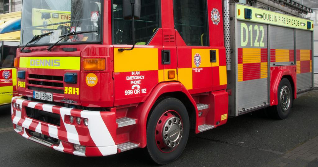 Fire in Carrickmines