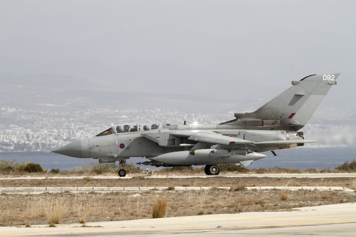 RAF given green light to shoot down hostile Russian jets in Syria