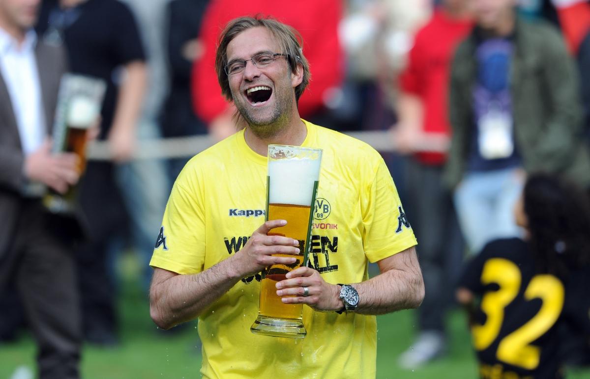 Jurgen Klopp beer