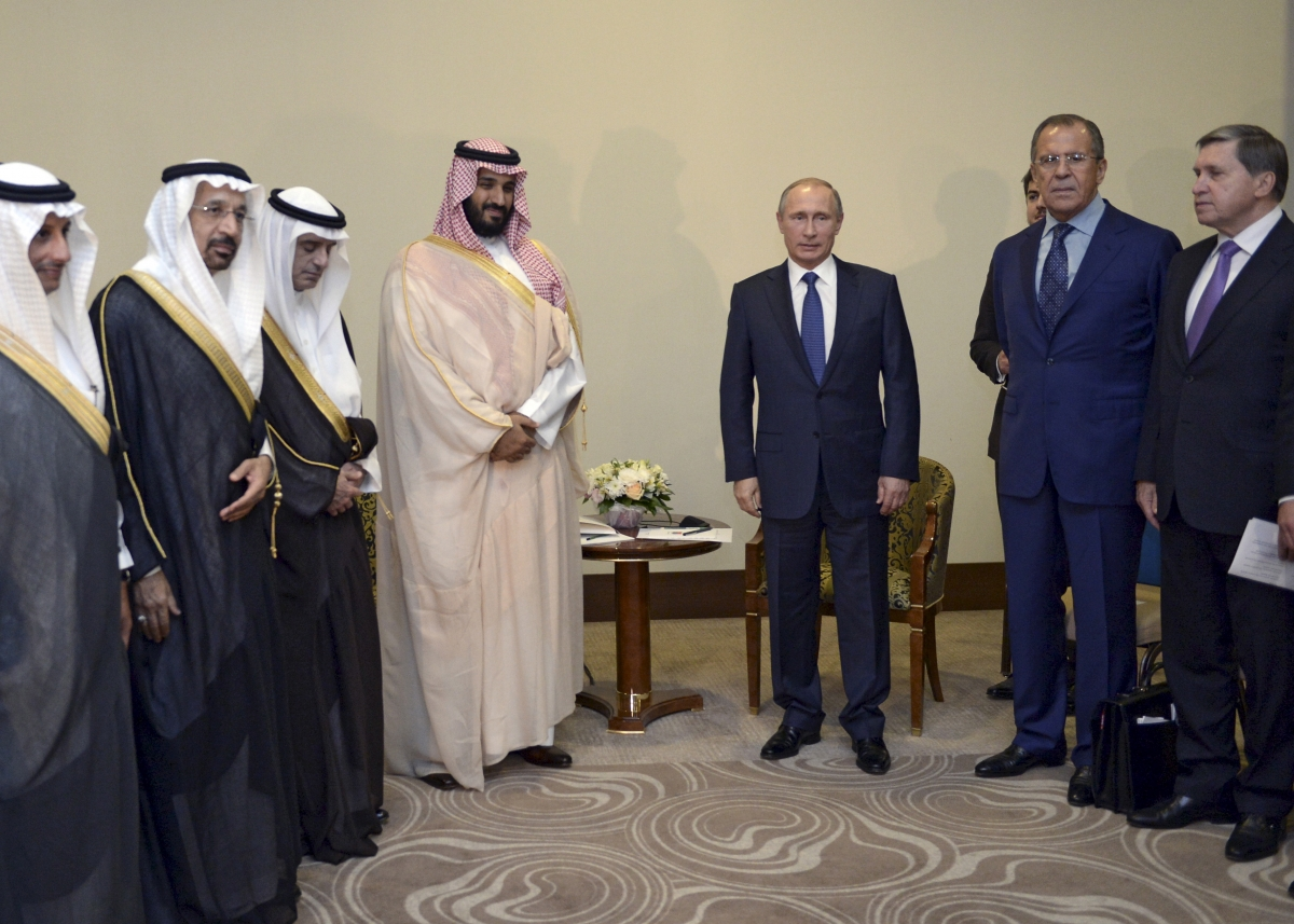 Saudi Arabia Russia talks over Syria