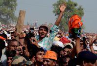 Narendra Modi\'s election rally in Bihar