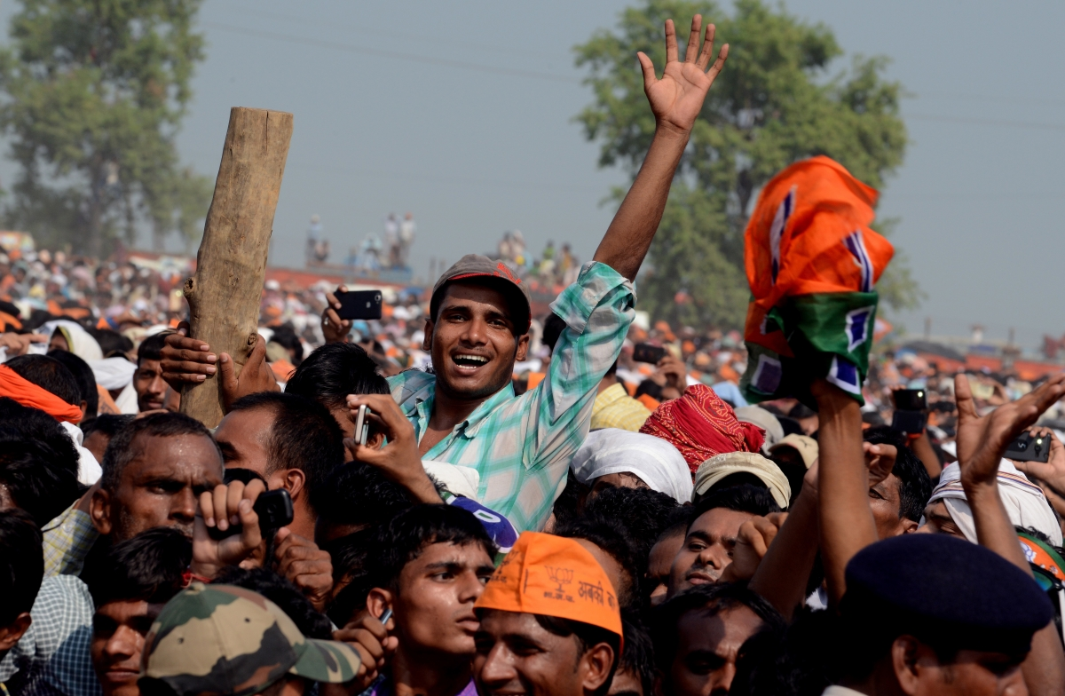 Narendra Modi's election rally in Bihar
