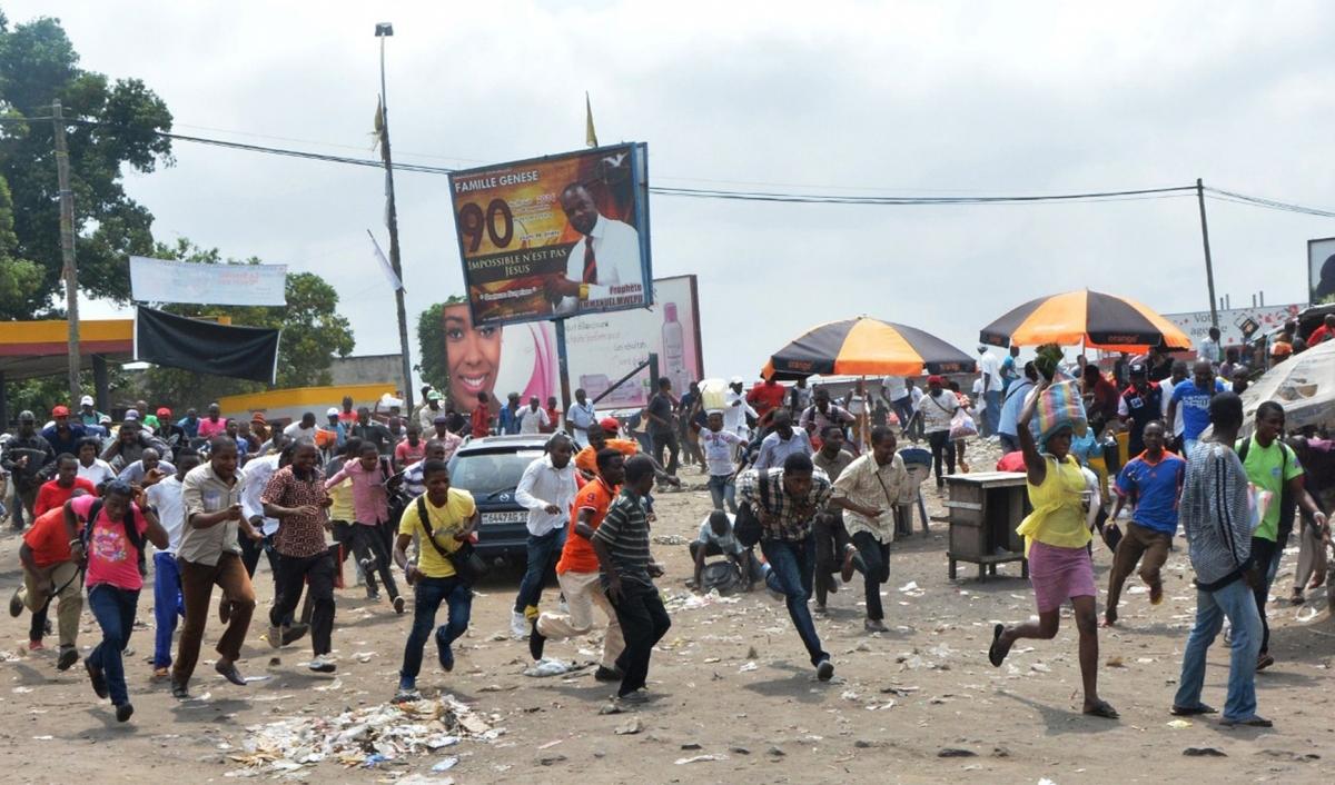 DRC anti-Kabila protest