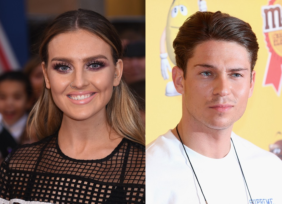 Perrie Edwards and Joey Essex