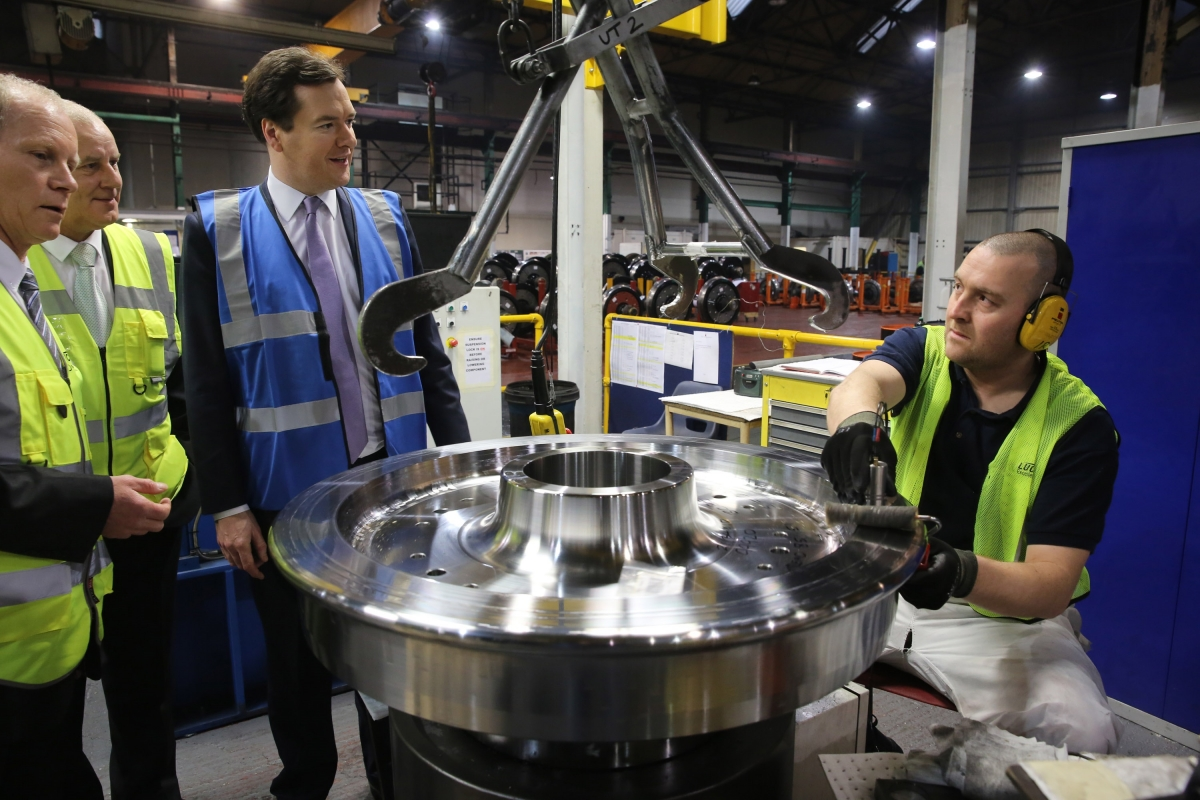George Osborne UK manufacturing