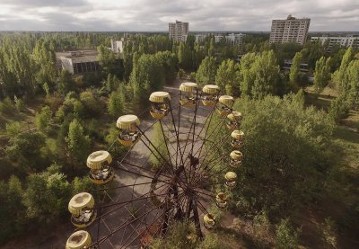 Chernobyl abandoned town