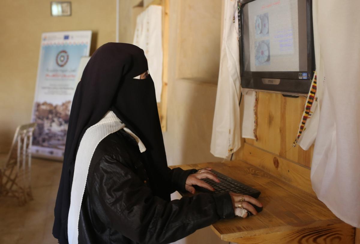 Business women in Egypt