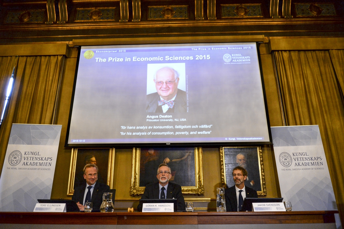 Angus Deaton Wins Nobel Prize