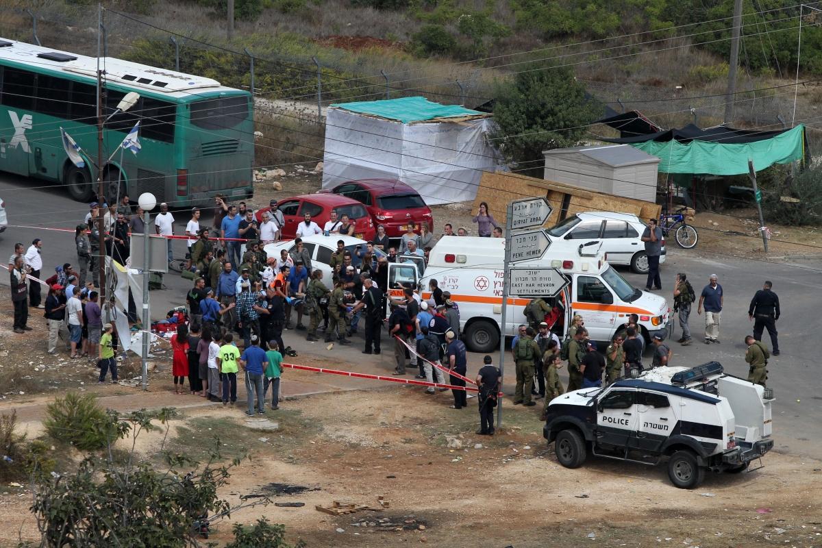Kiryat Arba stab attack Hebron Israel Palestine