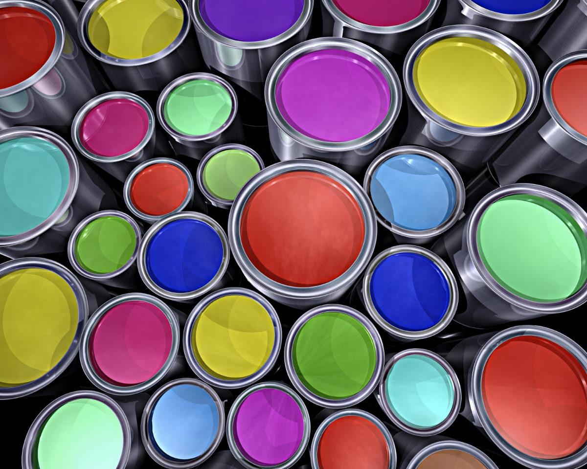 Colour-changing Chameleon nano paint