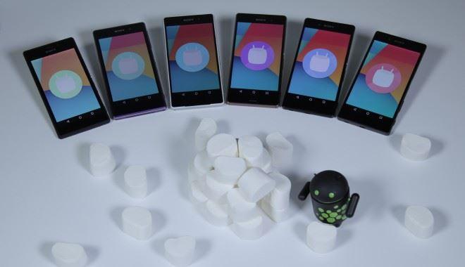 Sony Android 6.0 Marshmallow AOSP