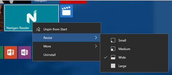Windows 10 Context menus