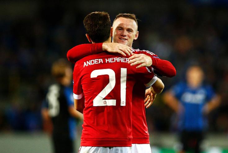 Wayne Rooney-Ander Herrera