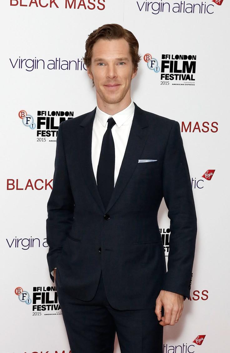 Benedict Cumberbatch at the Black Mass premiere