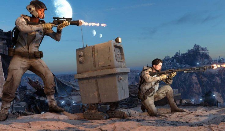 Star Wars Battlefront GNK Droid Run
