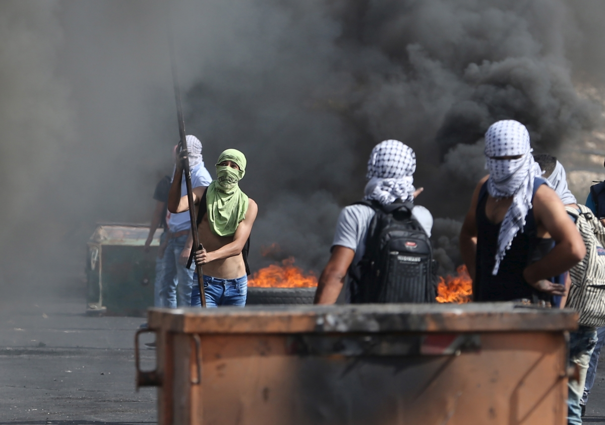 Israeli palestinian violence