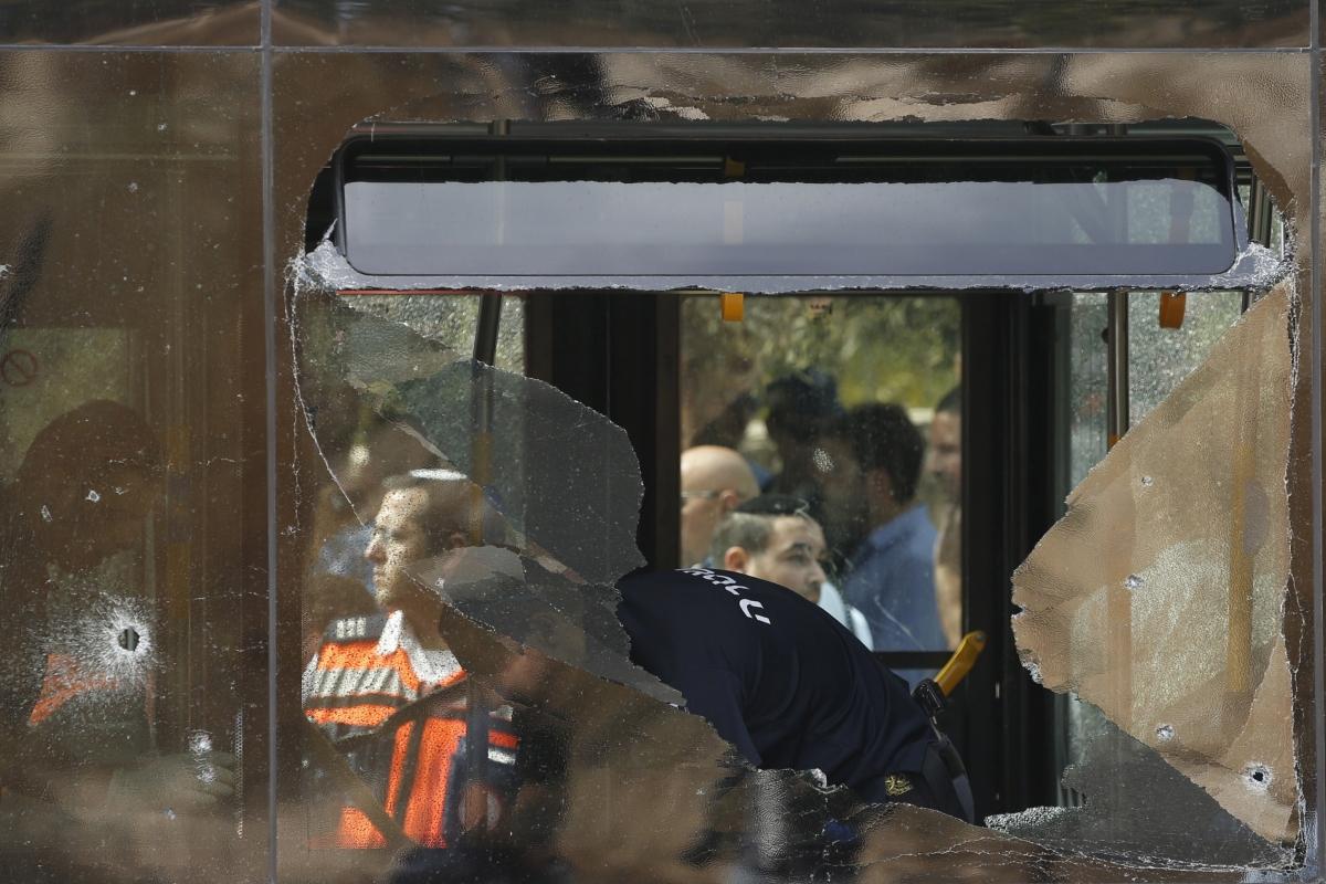 israel palestine violence bus attack
