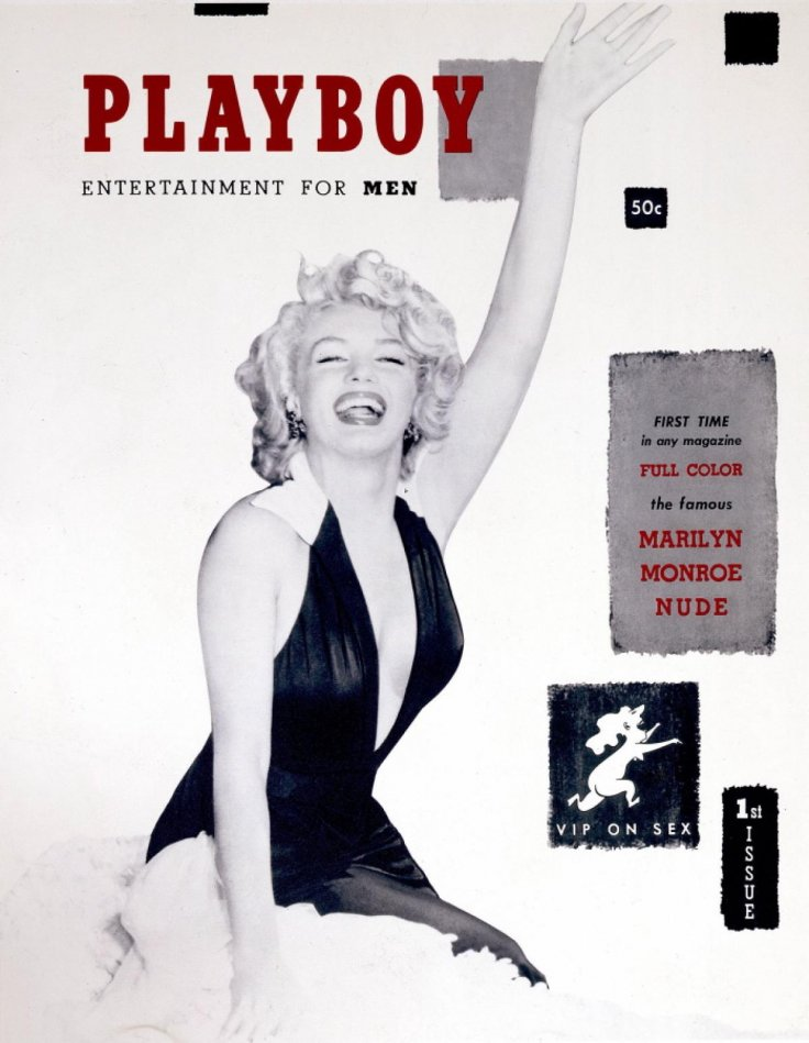 First ever Playboy December 1953, Marilyn Monroe