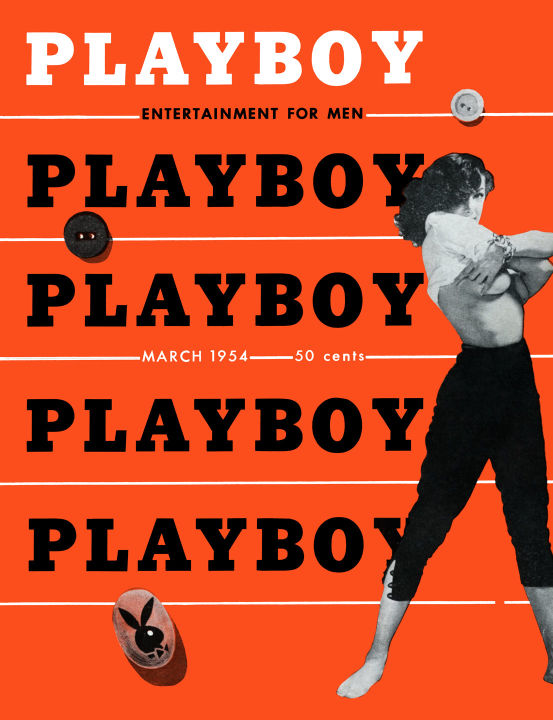 Playboy March 1954 issue