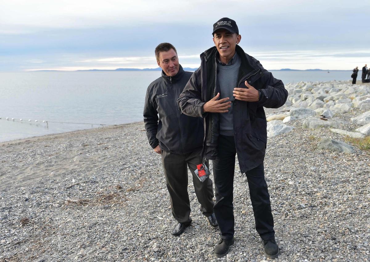 Barack Obama Alaska