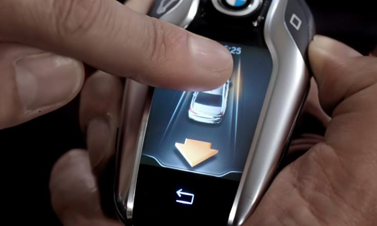 BMW 7-Series key