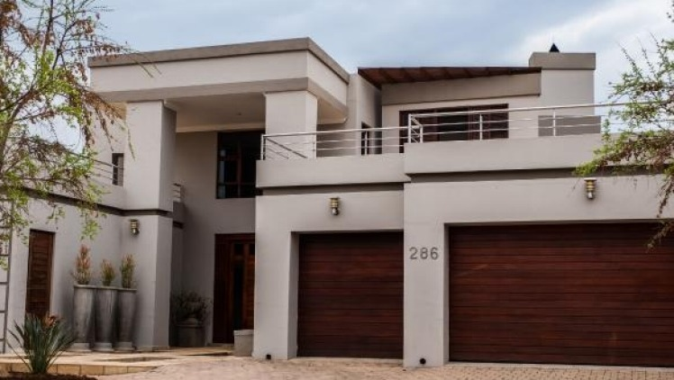 Oscar Pistorius' former house