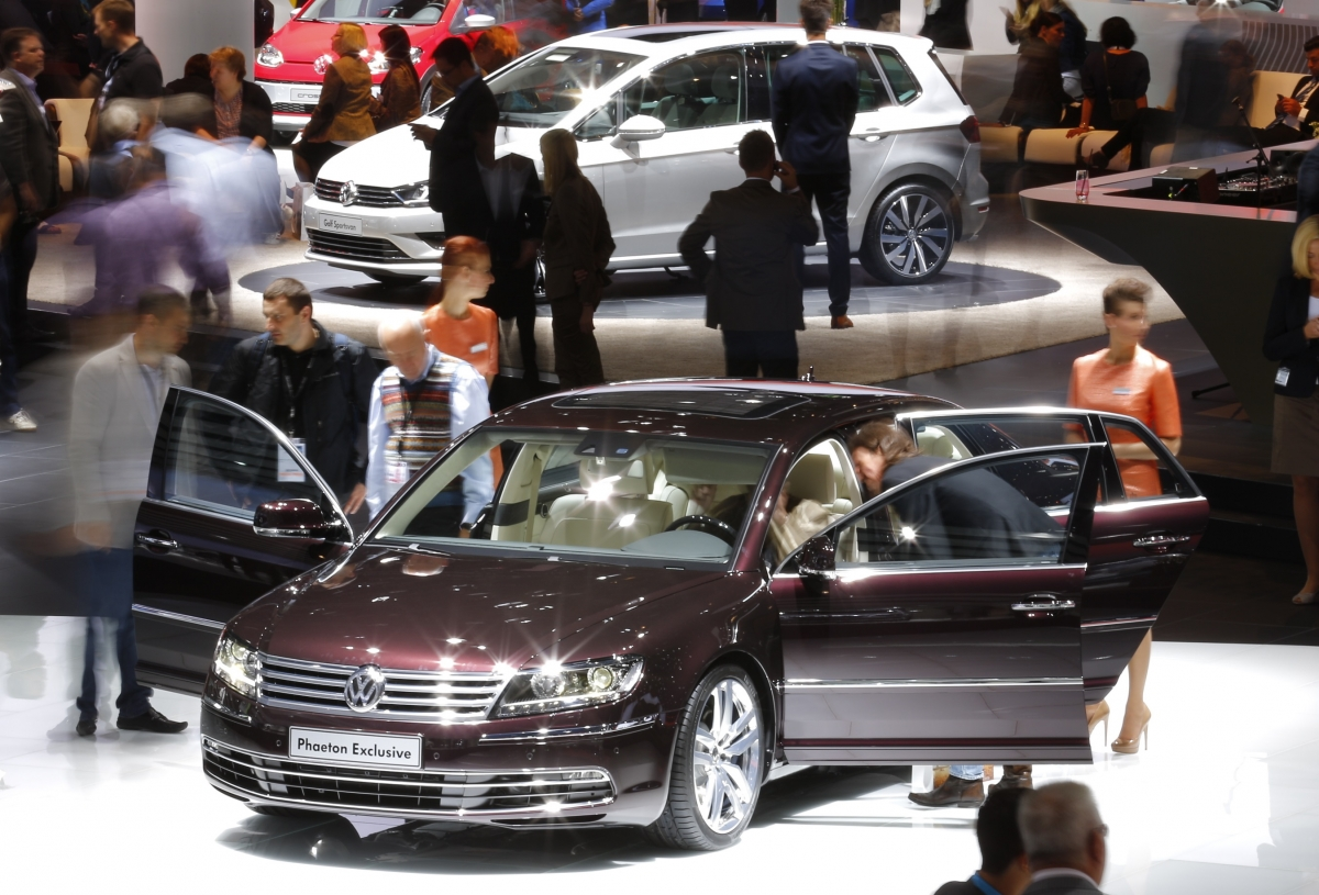 VW Phaeton Exclusive, Frankfurt Motor Show