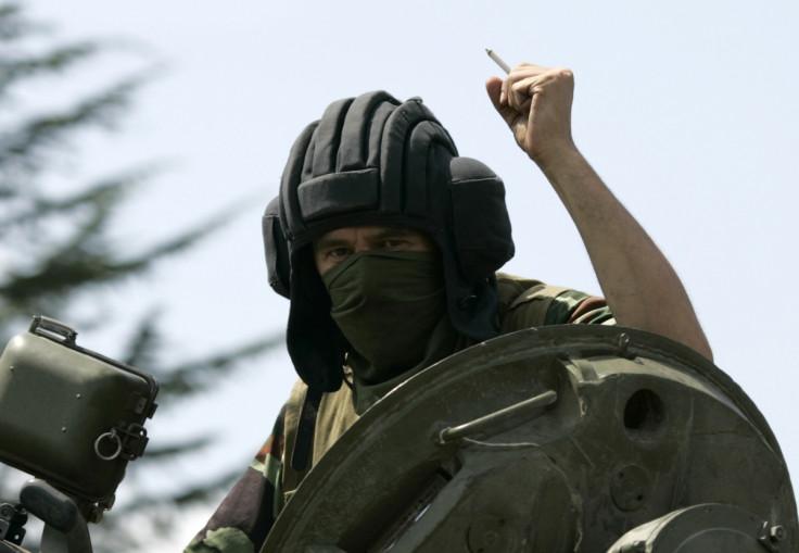 Russian soldier, Georgia