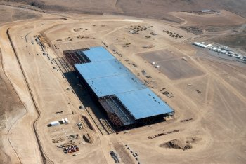 Tesla Gigafactory site