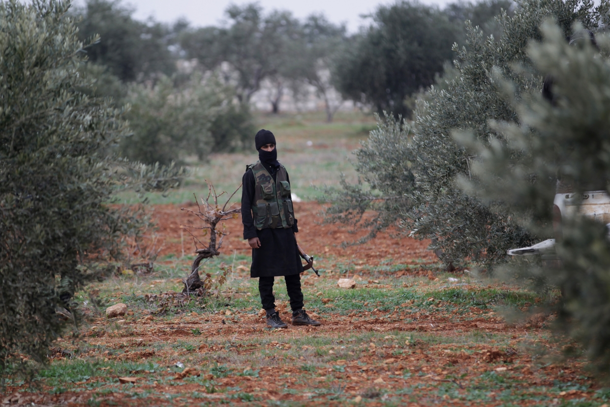 Syria olive oil nusra front