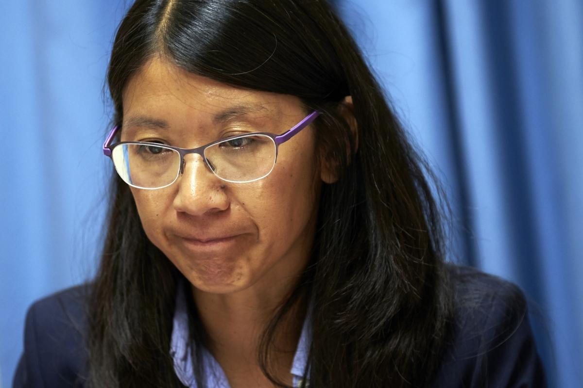 MSF president Joanne Liu