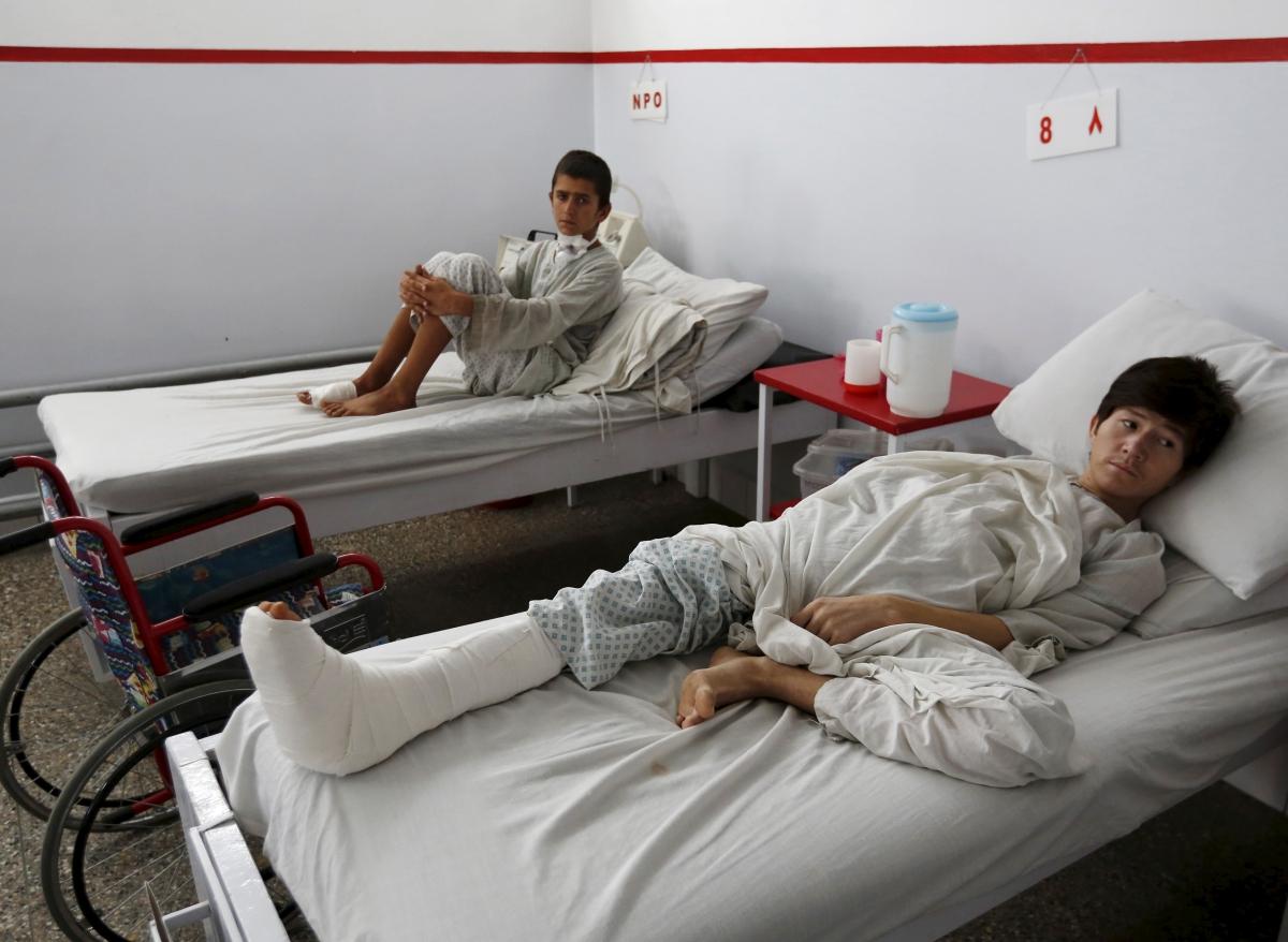 US air strike MSF Kunduz