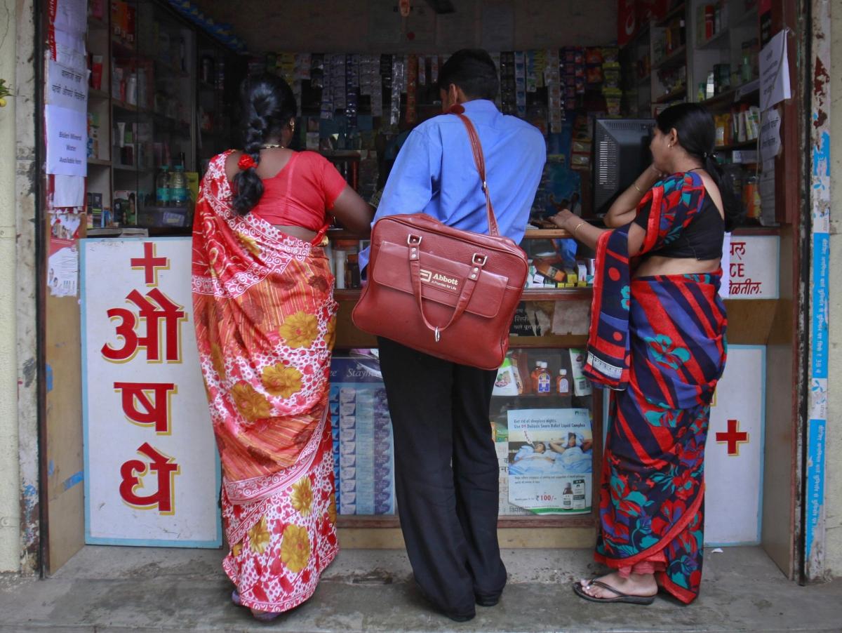 India pharmacies protest