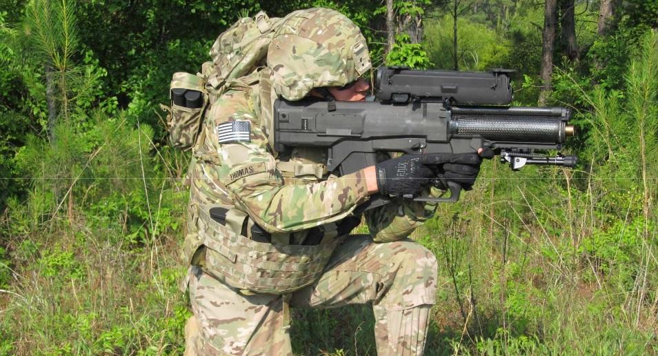 XM25 Counter Defilade Engagement System smart grenade