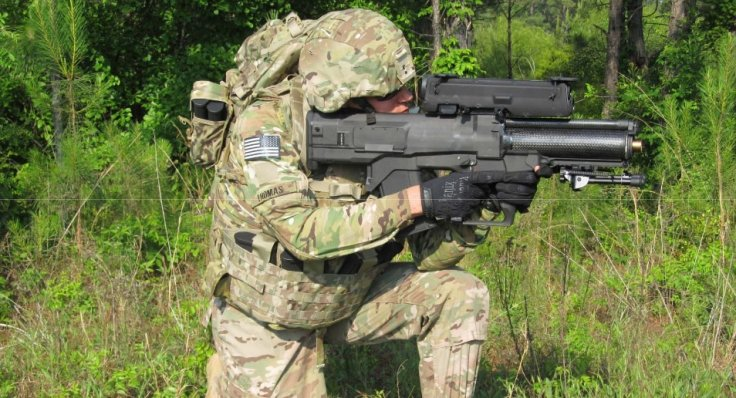 US Army tests smart grenade launcher that can take out hidden